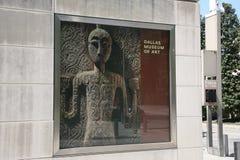 Dallas Museum av Art Poster royaltyfria foton