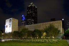 Dallas Museum de las escenas de la noche del arte imagen de archivo libre de regalías