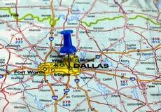 Dallas negli S.U.A. Fotografia Stock Libera da Diritti