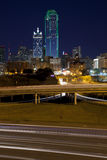 Dallas at Night Royalty Free Stock Images