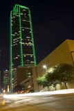 Dallas at night Stock Image