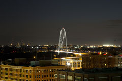 Dallas night scenes Stock Photo