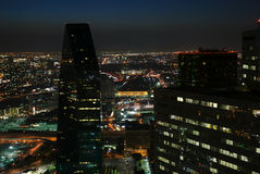 Dallas Nightscape Royalty-vrije Stock Fotografie
