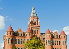 Dallas Old Red Museum. A view of the historic Old Red Museum in Dallas, Texas (USA).  Served as the Dallas County Courthouse from 1892 to 1966 and now is a Royalty Free Stock Photography