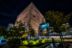 Dallas Perot Museum in HDR Royalty Free Stock Image
