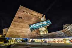Dallas Perot Museum in HDR Royalty Free Stock Photography