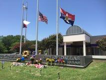 Dallas Police Station, el 8 de julio de 2016 Fotografía de archivo libre de regalías