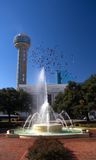 Dallas sky tower Royalty Free Stock Photos