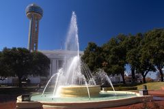 Dallas sky tower Royalty Free Stock Images
