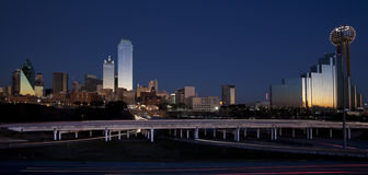 Dallas Skyline Stock Image