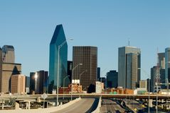 Dallas Skyline Stockbild