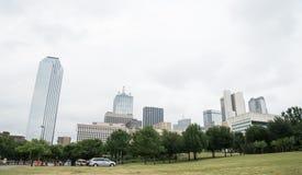 Dallas Skyline Stock Afbeelding