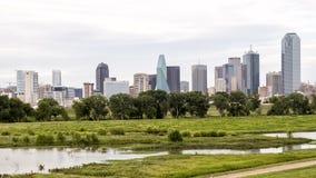 Dallas Skyline de l'ouest images stock