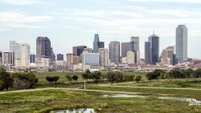 Dallas Skyline de l'ouest photos stock