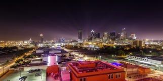 Dallas Skyline. Night View of Dallas Skyline Royalty Free Stock Photo