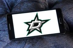Dallas Stars-het embleem van het ijshockeyteam Stock Afbeeldingen