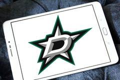 Dallas Stars-het embleem van het ijshockeyteam Stock Foto's