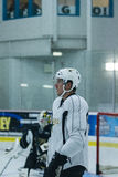 Dallas Stars Practice Royalty Free Stock Image