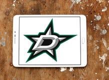 Dallas Stars zamraża drużyna hokejowa loga fotografia royalty free