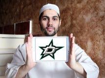 Dallas Stars zamraża drużyna hokejowa loga obraz stock