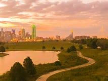Dallas Sun Rise image libre de droits