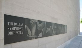 The Dallas Symphony Orchestra Stock Photography