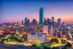 Dallas, Tejas, los E.E.U.U. Foto de archivo