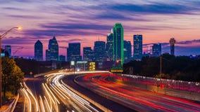 Dallas, Teksas linia horyzontu zbiory wideo