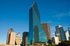 Dallas Texas. Skyline in the Early Evening Royalty Free Stock Photography