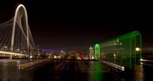 Dallas Texas (abstract) Royalty Free Stock Photo