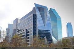 Dallas Texas céntrico Imagen de archivo libre de regalías