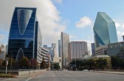 Dallas Texas céntrico Imágenes de archivo libres de regalías