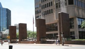 Dallas Texas Downtown Landmark Imagen de archivo