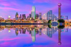 Dallas Texas EUA imagem de stock royalty free