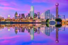 Dallas Texas los E.E.U.U. Imagen de archivo libre de regalías