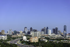 Dallas Texas Skyline. And Cityscape royalty free stock photos