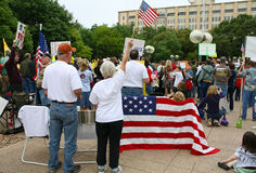 Dallas Texas Tea Party Stock Images
