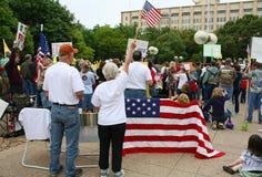 Dallas Texas Tea Party Stock Images