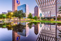 Dallas Texas, USA royaltyfria bilder