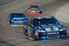 DALLAS, TX - NOVEMBER 04: Jimmie Johnson 48 leads Stock Image