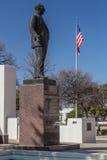 Dallas, TX/USA - circa febbraio 2016: Monumento di Dealey alla plaza di Dealey a Dallas, il Texas immagine stock libera da diritti