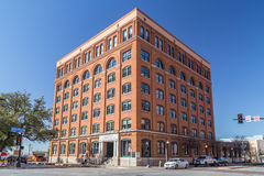 Dallas, TX/USA - circa February 2016: Sixth Floor Museum at Dealey Plaza where Kennedy was  shot Stock Image