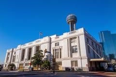 Dallas Union Station, également connu sous le nom de Dallas Union Terminal photo libre de droits