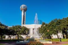 Dallas Union Station också som är bekant som Dallas Union Terminal Arkivfoto