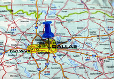 Dallas in usa Royalty Free Stock Photography