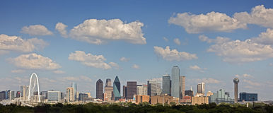Dallas van de binnenstad, Texas stock afbeelding