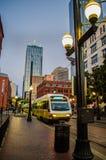 Dallas West End Imagen de archivo libre de regalías
