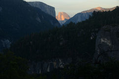 Dalle montagne Fotografia Stock Libera da Diritti