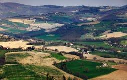 Dalle pareti della città di Todi, l'Umbria, Italia Fotografie Stock