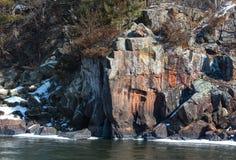 Dalles av floden för St. Croix Royaltyfria Foton